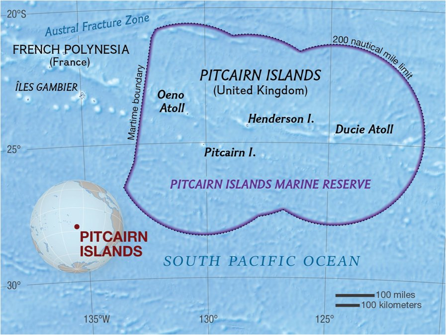 Pitciarn Islands